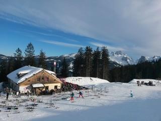 Skihütte Alpen