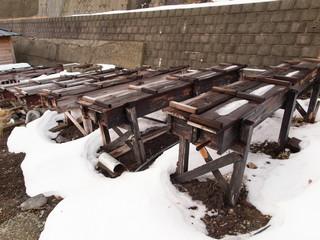 那須湯本温泉 湯の素採集場