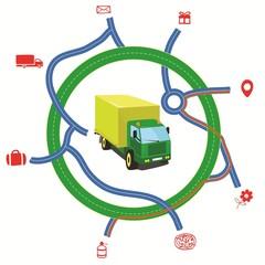 Truck roads