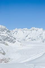 Bettmeralp, Dorf, Alpen, Aletschgletscher, Winter, Schweiz