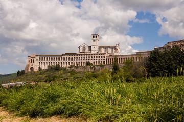 Basilica di San Francesco, Assisi, Perugia, Umbria, Italia