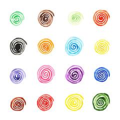 Handpaint watercolor vector background.