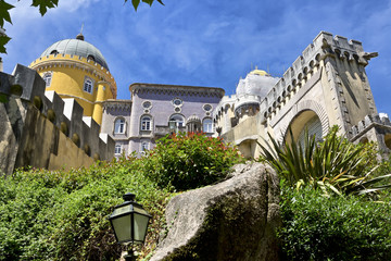 Sintra, Portugal. Pena National Palace