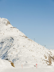 Bettmeralp, Dorf, Bergbahn, Bettmerhorn, Wallis, Winter, Schweiz
