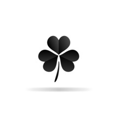 Clover icon - vector illustration