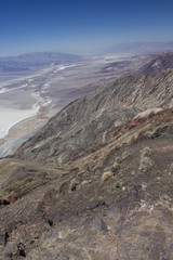 Panomarmic View of Death Valley National Park