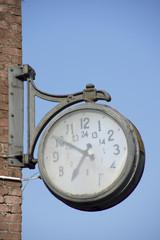 Uhr auf Zeche Ewald, Herten, Nrw, Deutschland