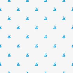 Seamless pattern - ships