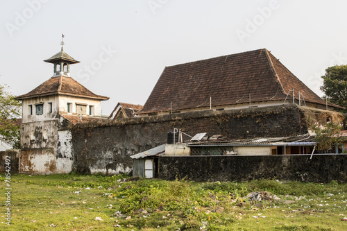 Paradesi Synagogue in Kochin (Cochin) - Kerala - India
