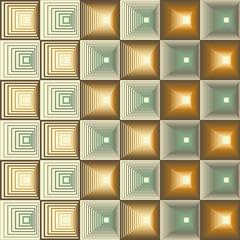Three Seamless Retro Patterns