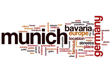 Munich word cloud