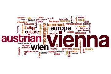 Vienna word cloud