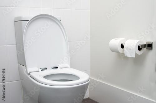 Leinwanddruck Bild toilet