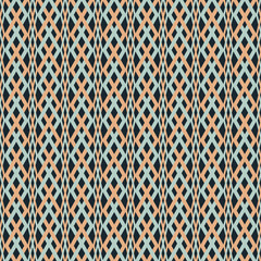 Abstract seamless braided pattern