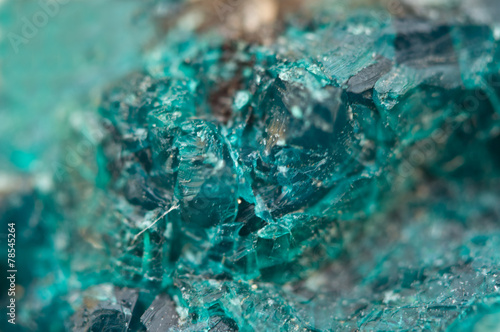 Chrysocolla is a hydrated copper cyclosilicate - 78545264
