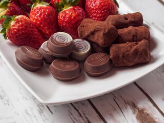 Strawberries and Chocolates