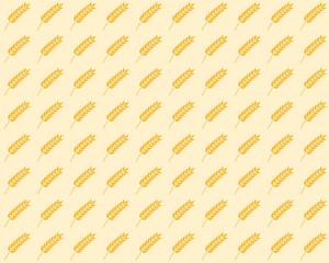 spikelet seamless pattern