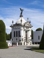 Mausoleum auf dem Cementerio Municipal de Punta Arenas