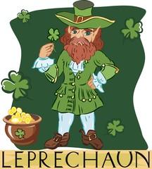 Leprechaun with title