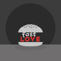 Fast love illustration