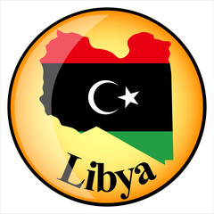 orange button with the image maps of Libya