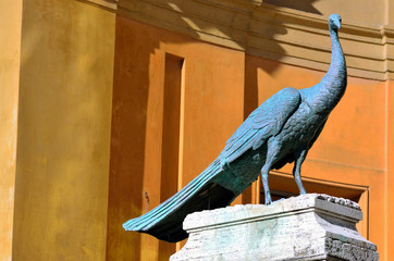 The Vatican museums in Rome, Italy