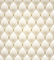 Quilted seamless pattern. Cream color.
