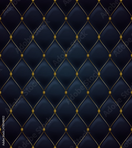 Quilted seamless pattern. Black color. - 78548052