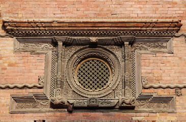 Ancient Windows in Hanuman Dhoka Durbar