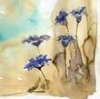 cornflowers,