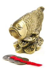 Arowana a symbol of wealth and prosperity.
