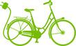 E-Bike Elektrofahrrad Vektor Silhouette - 78551221