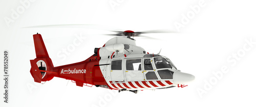 Rescue helicopter - 78552049