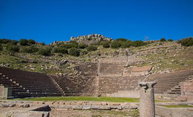 Tarihi Assos  Amfitiyatro