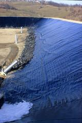 discarica preparazione scavo e impermeabilizzazione