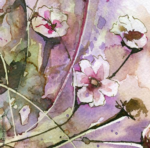 twig, pink, © bruniewska