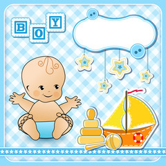 Set baby design elements.