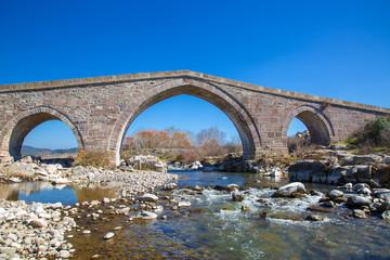 Tarihi Behramkale Köprüsü Assos