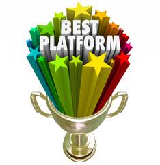 Best Platform Trophy Award Prize Great System Process Managing C
