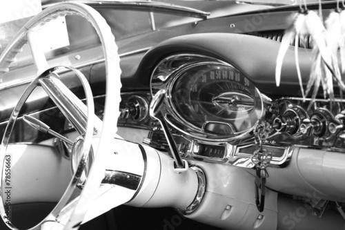Vintage Oldtimer Cockpit