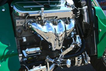 Motorrad Chrome Motor