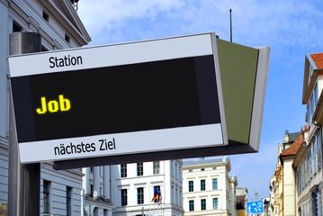 Anzeigetafel 7 - Job