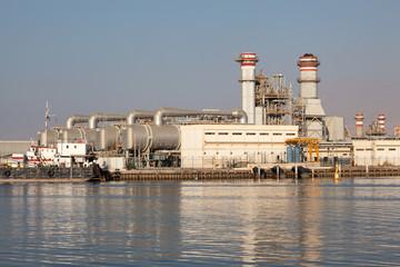 Power station in Ras Al Khaimah, United Arab Emirates