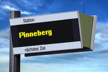 Anzeigetafel 6 - Pinneberg