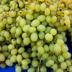 grapes in a market.  grape background
