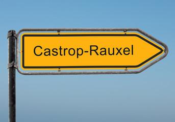 Strassenschild 35 - Castrop-Rauxel