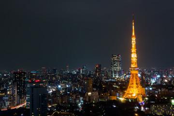 東京タワー(夜景)