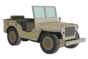 Willys jeep of World War 2