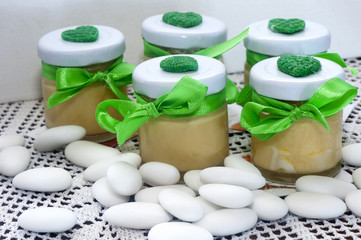 home made weddings favors