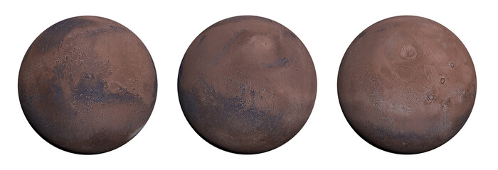 Detailed Planet Mars